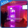 LED popolare che illumina la cabina gonfiabile della foto