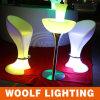 Baralho de bar colorido e café LED para mesa e fezes de bar barato