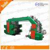 Type machine de pile de couleur de Changhong 4 d'impression de Flexo
