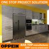 Быстрая доставка лучшая цена Lividity ламинирование древесины кухня шкаф (OP14-K007)