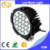 guide optique de travail de la haute énergie DEL de lumière de travail d'éclairage LED de la lumière 63W de travail d'entraîneur de 12V DEL avec glisser le support