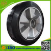 Schwarzes Rubber auf Aluminum Core Caster Wheel
