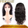 De hoge Pruiken van het Haar van het Haar van Terugkoppeling Beste Verkopende 100% Maagdelijke Zwarte