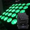 25 15W LED Moving Head Quad Light