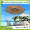 ' Paraguas al aire libre del patio 9 de lujo con la manivela y la salida de aire