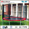 Enclosure를 가진 둥근 Kids Outdoor Trampoline