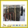 Natural Polished Stone Marron Emperador Marble Slabs pour Countertop/Vanitytop (YQC)
