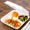 Контейнер еды пульпы багассы отсека 9inch 3 100% Biodegradable