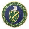 Ministère de l'énergie en alliage de zinc en gros des Etats-Unis Amercian la médaille de pièce de monnaie d'enjeu plaquée par or (YB-c-013)