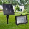 Indicatore luminoso di inondazione solare registrabile di telecomando di luminosità 30 LED