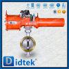 Тип пневматическая клапан-бабочка вафли триппеля Didtek смещенный