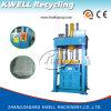Professionelle vertikale hydraulische Ballenpreß-/rohe Wolle-Presse-Maschine/Baumwollfaser-Ballenpresse