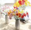 La seta lilla dentellare dei fiori artificiali fiorisce il prezzo di fabbrica artificiale dei fiori della begonia del fiore di seta falso artificiale