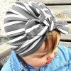 Protezione capa impostata molle Esg10411 delle orecchie di coniglio del bambino del turbante delle ragazze del cappello del bambino