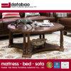 Good Quality As838를 가진 Home Use를 위한 최신 Simple Design Solid Wood Round Coffee Table