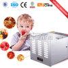 Deshidratador ajustable de las frutas con el sistema de la circulación del aire caliente