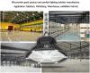 Marcação IP65 LED de Armazenagem Fria OVNI Luz High Bay com cobertura anti-reflexo