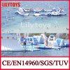 매력! Sea (J 물 공원 04)를 위한 거대한 Inflatable Floating Water Slide Water Park Adult Sport Game