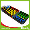 Grande Free Jumping Trampoline Area con Dodge Ball Court