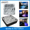 Manufacture de luxe en acrylique Aristech un bain à remous spa extérieur avec système de Balboa