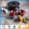 Hoja de UHMWPE Wear-Resisting Natural/ rueda polea pequeña de plástico