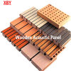 El panel de pared de madera de la absorción sana del panel de la decoración de la tarjeta del techo del panel acústico
