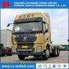 Shacman X3000 6*4 380HP 주요하 발동기 Tractor Truck