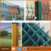 Frontière de sécurité de dépliement enduite de treillis métallique 3D de PVC