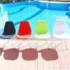 Cadeira plástica ao ar livre pública colorida moderna por atacado do lazer (SP-UC030)