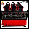 Nouveau projet d'affaires Cinema 7D interactive pour le rouge 6 Sièges électriques Système de cinéma 7D