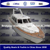 На лодке из алюминиевого сплава Bestyear Al1600