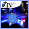 9 em 1 Rechargeable LED Safety Car Auto Emergency Vehicle Strobe Sos Luzes de advertência