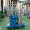 plataforma de trabajo Elevated de la escala hidráulica de la elevación de la aleación de aluminio del precio de fábrica de los 6m