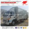 Carro del camión de la estaca de la distancia entre ejes de la emisión 3300m m del euro 3