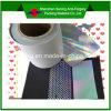 Material evidente de la etiqueta del pisón del vacío del laser