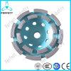 Спеченный абразивный диск чашки рядка двойника диаманта