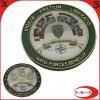 Монетка металла военно-морского флота высокого качества с эпоксидной смолой