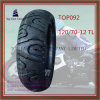 Superqualität des ISO-Nylon-6pr, schlauchlose, lange Lebensdauer-Motorrad-Gummireifen mit Größe: 120/70-12tl