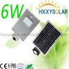 Fabrik-Preis aller in einem integrierten Solarstraßenlaterne6W