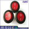 Interruptor de balancim redondo de ENEC/UL/CQC Blcak para a cafeteira