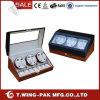 6+8 Watches를 위한 중류 Design Zebra Wood Watch Winder Case