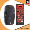 15 Spreker ps-3215PBT van de FM van de duim USB BR de Plastic Actieve 60W