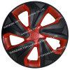 Orli di plastica universali del centro dell'automobile del mozzo di rotella della fibra PP/ABS del carbonio