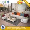 Restaurante simples de design de mobiliário de couro de Cor Verde Puro Booth sofá (HX-8NR2012)