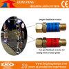 Dispositivo di arresto di ritorno ad ossigeno e gas M16 per la tagliatrice di CNC