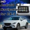 Plug&Play androide Navigations-Schnittstelle für Mazda Cx-3 mit WiFi Mirrorlink Youtube USB
