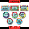 Zoll gedrucktes Entwurfs-Schürhaken-Rundschreiben bricht Kasino-Spiele ab, die keramisches Kasino abbricht (YM-CP007)