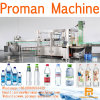 La limitación de llenado de botella de leche y el etiquetado de la máquina para el frasco de vidrio y plástico