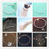 Pulsera verdadera del encanto de la marca de fábrica de la joyería de Hotsale de la plata esterlina 925 del 100% para las muchachas