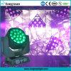 19X15W Bee Ojo Haz de LED de Osram lavar moviendo la cabeza de la luz de DJ